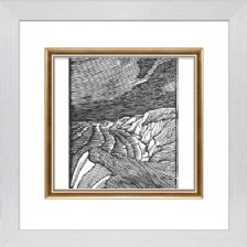 Sea and Cliffs - Ready Framed